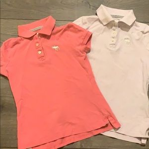 Abercrombie kids polos size small!